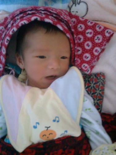 我当爸爸啦!女儿20110520